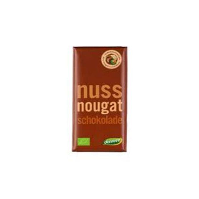 Chocolate De Leite Com Recheio De Creme De Nougat Bio