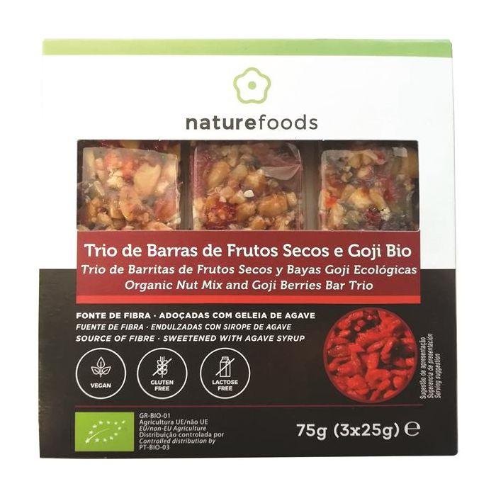 Barra Frutos Secos+Goji S.G. Bio