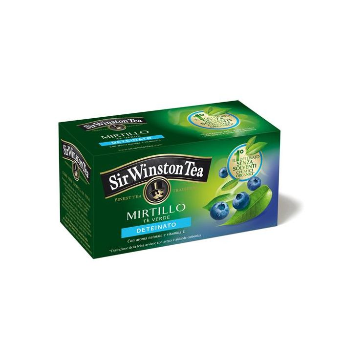 Chá Verde Descafeinado Mirtilo