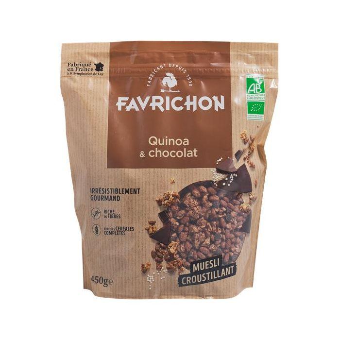 Muesli Biológico Quinoa Chocolate Crocante