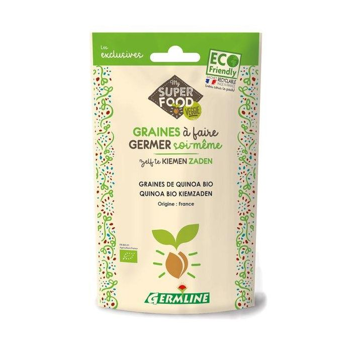 Quinoa Bio - Sementes Para Germinar