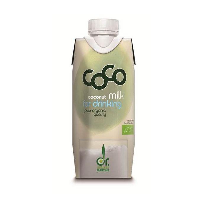 Leite De Coco Biológico Para Beber