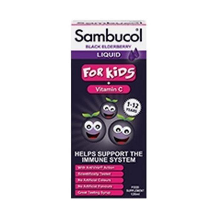 Xarope Sabugueiro Vitamina C Kids