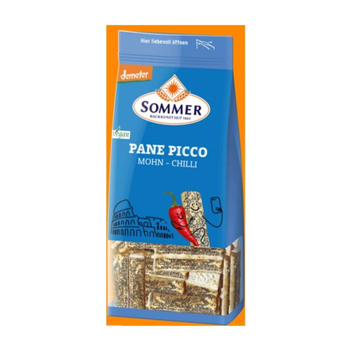Snack Bio Espelta Sementes Papoila