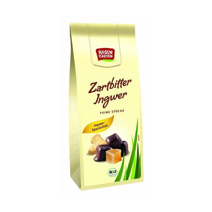 Gengibre Cristalizado Com Chocolate Preto Bio