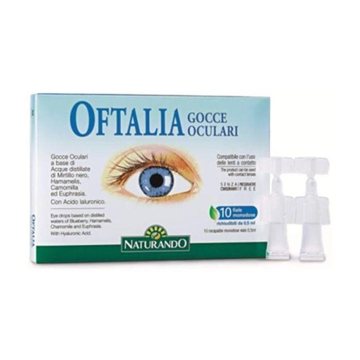 Oftália Gotas (Frascos Monodose Reaplicáveis)
