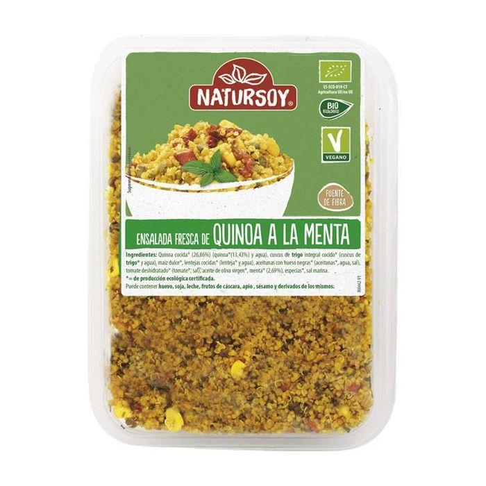 Salada Fresca De Quinoa Menta Bio 200G