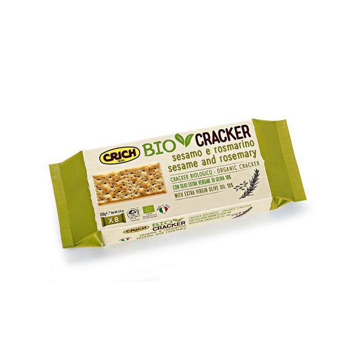 Crackers Bio Sésamo E Alecrim