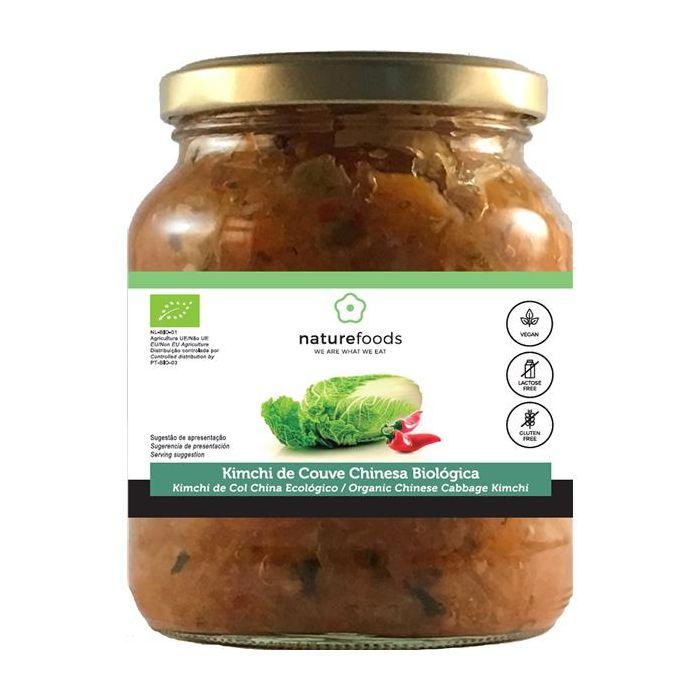kimchi de couve chinesa biológica
