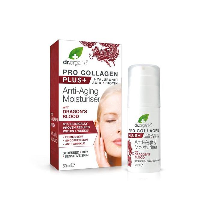 Creme Facial Dragons Blood - Pele Fatigada, Seca E Sensível