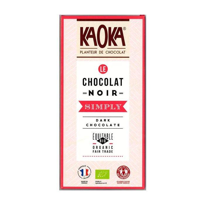 Chocolate Preto Bio Fair Trade 58% Cacau Simply
