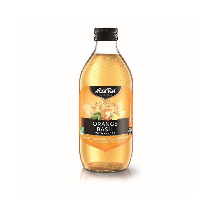 Bebida Refrigerante Bio Iced Tea Laranja Manjericão