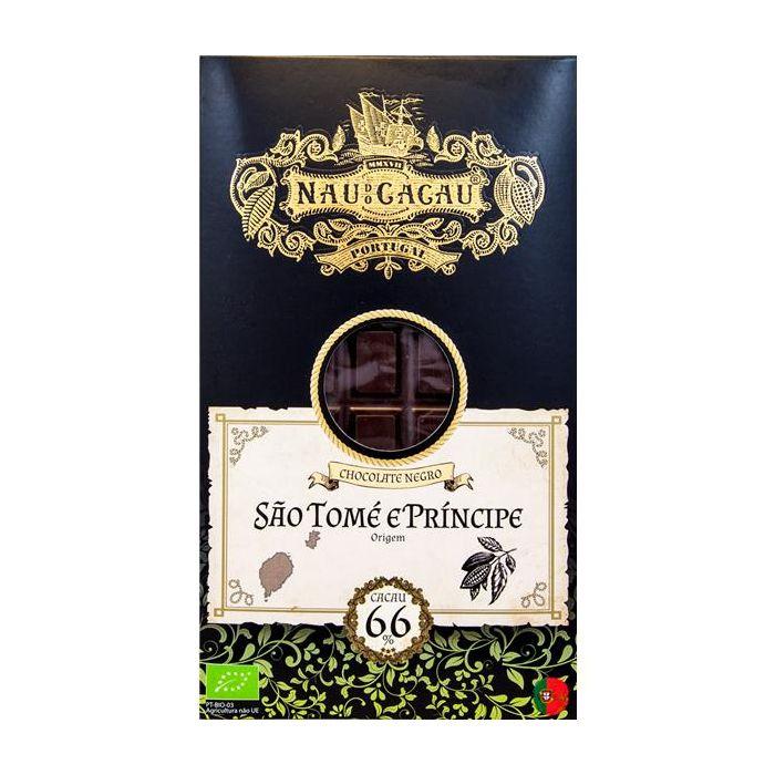 Chocolate Negro 66% De Cacau São Tomé E Prinicipe