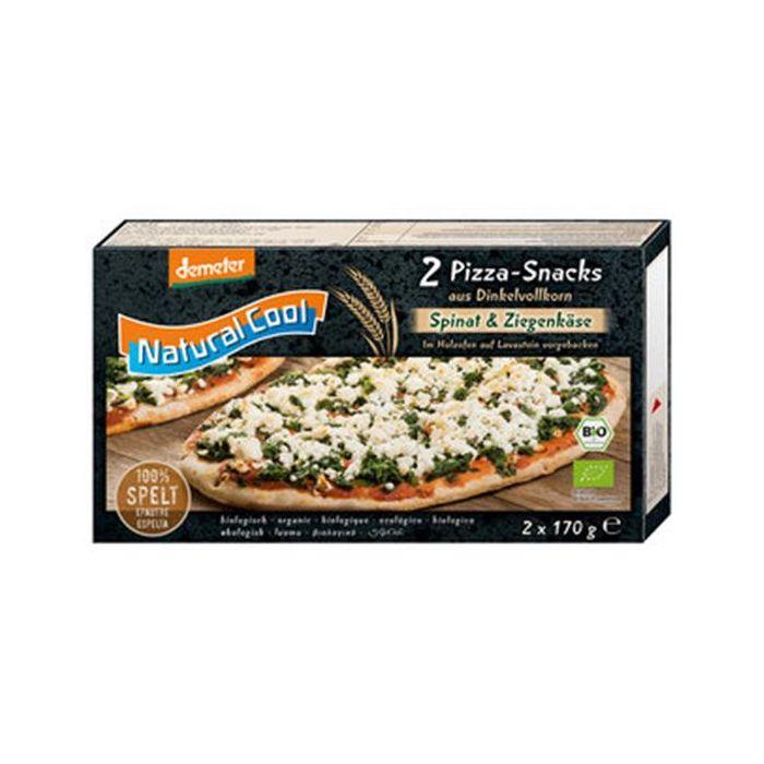 Pizza Snack Espelta Bio Espinafre E Queijo De Cabra