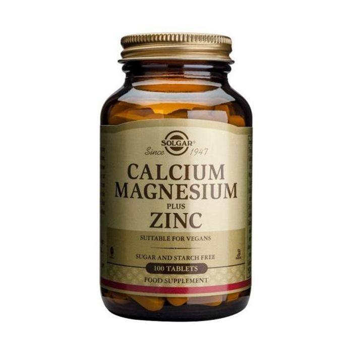Cálcio Magnésio Zinco 100 Comprimidos