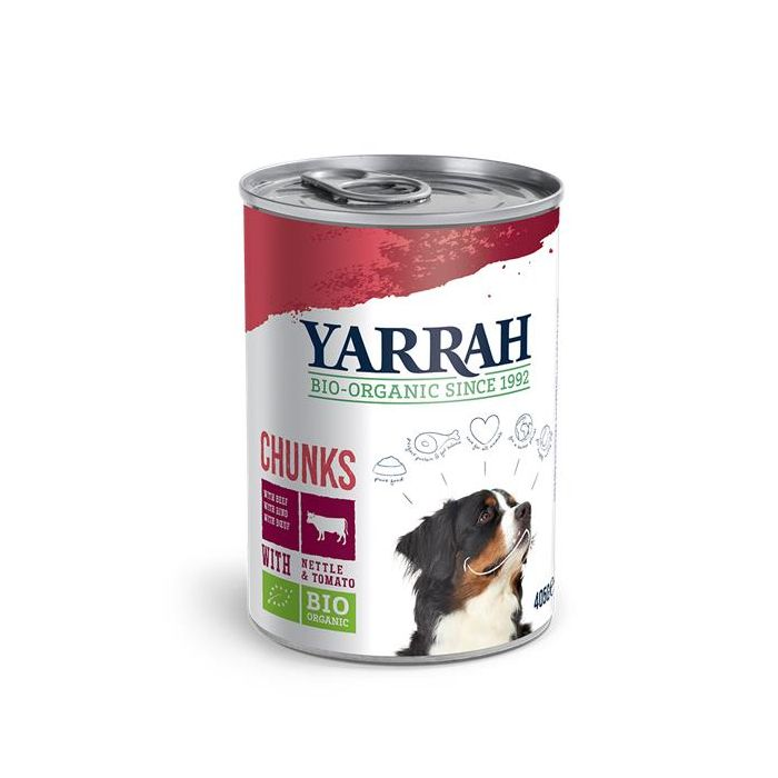 Alimento Para Cão - Almondegas Vaca Bio 405G