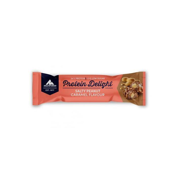 Barra Protein Delight Amendoim Caramelo Salgado