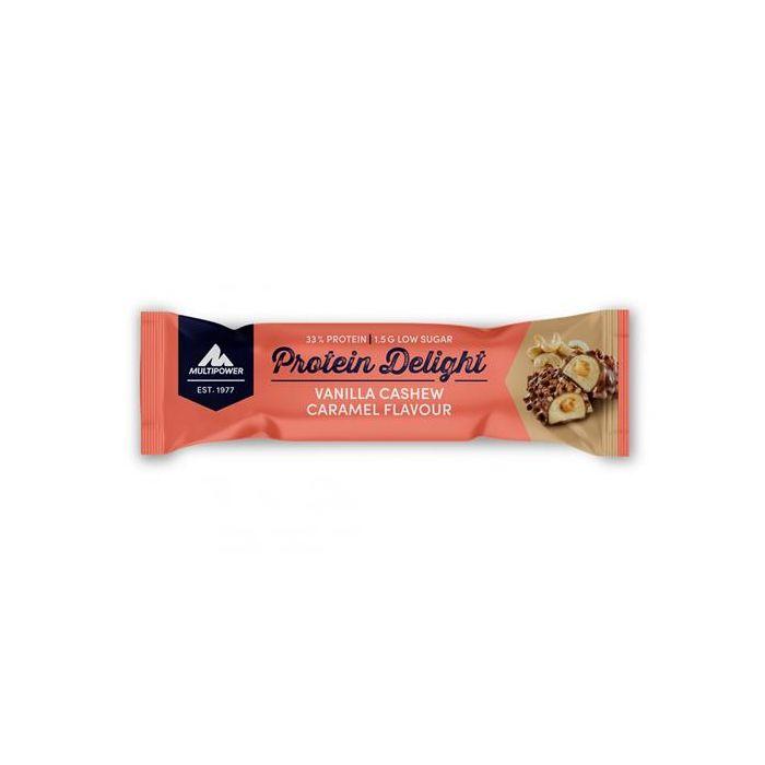 Barra Protein Delight Caju Baunilha Caramelo