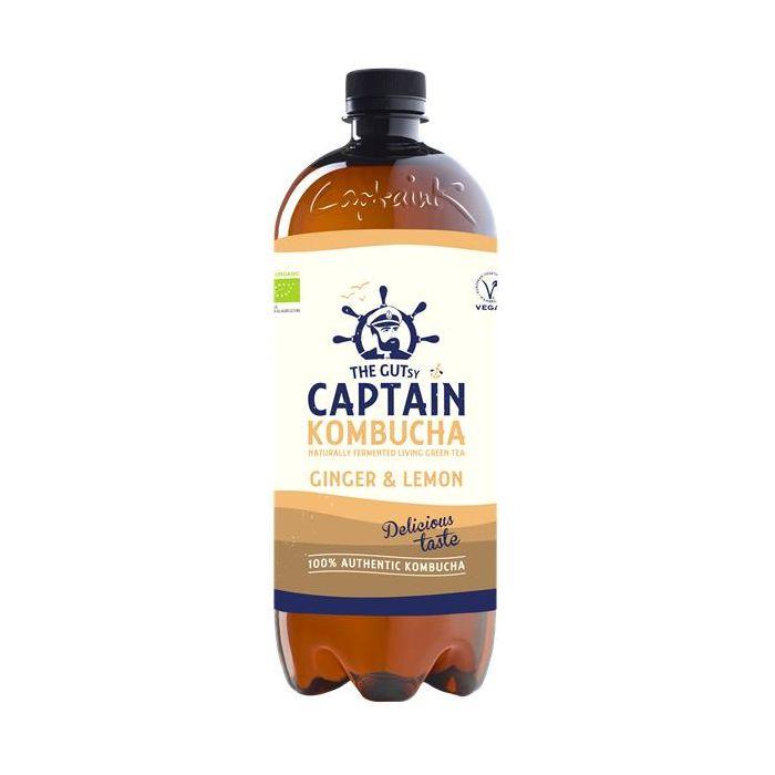 Captain Kombucha Bio Gengibre Limão
