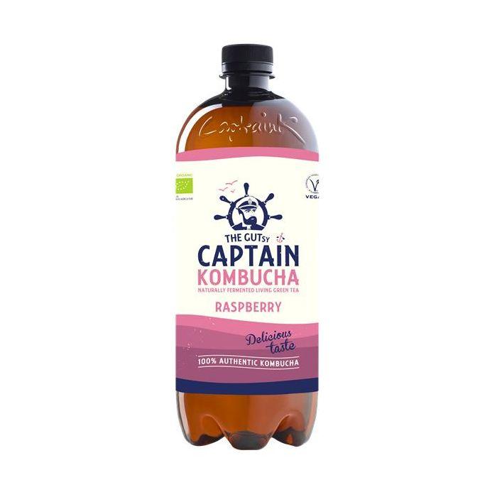 Captain Kombucha Bio Framboesa