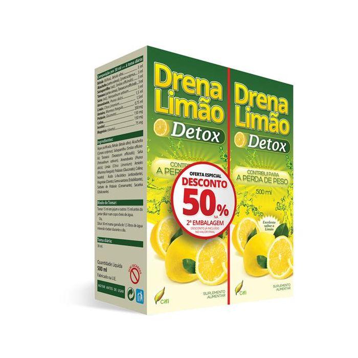 Pack Duplo Drena Limão (50% Desconto Na 2ª Emb.)