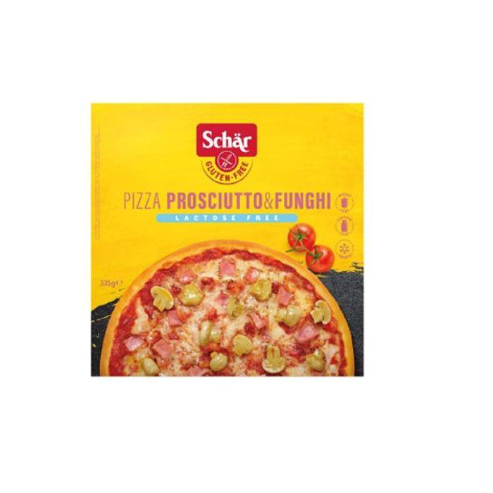 Pizza Fiambre + Cogumelos Sem Glúten E Sem Lactose