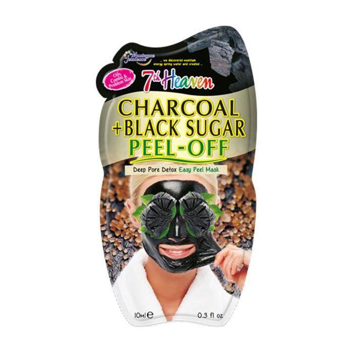 Máscara Facial Peel-Off Carvão Açúcar Preto