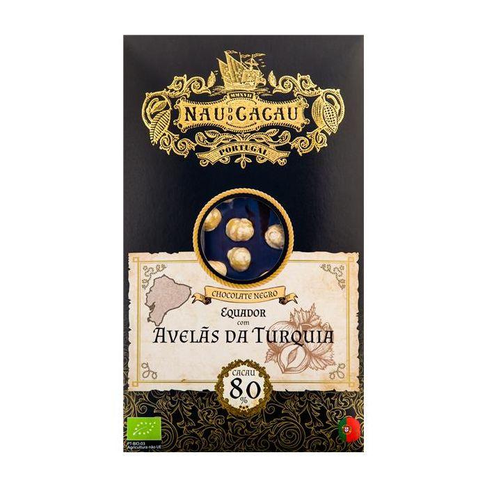 Chocolate Com Avelãs Da Turquia (Equador80% Cacau)