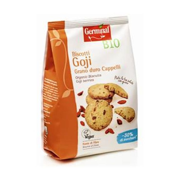 Biscoito Trigo Integral Com Bagas Goji Bio
