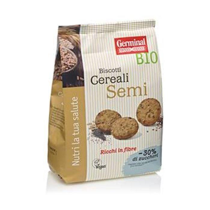 Biscoitos De Cereais Integrais E Sementes Bio