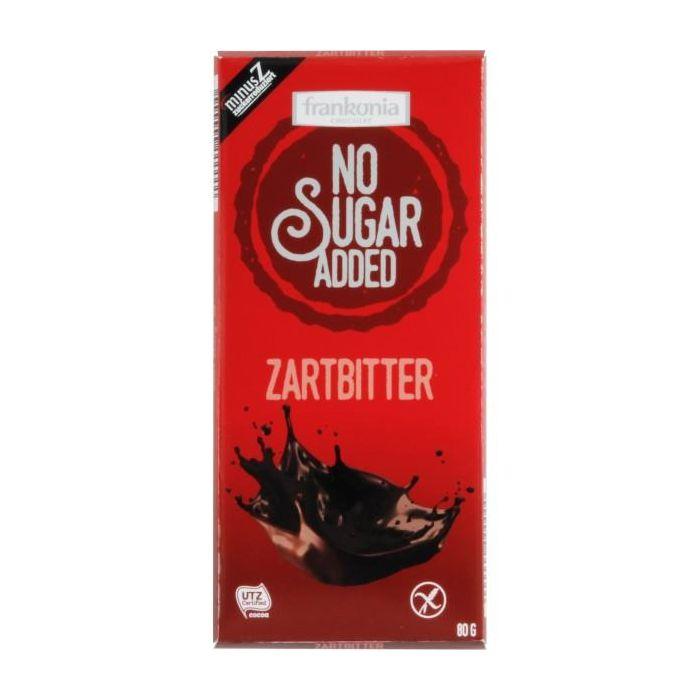 Chocolate Preto Sem Açúcar Adicionado