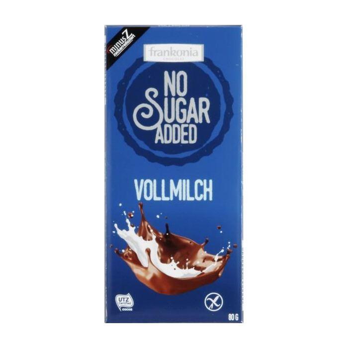 Chocolate De Leite Sem Açúcar Adicionado