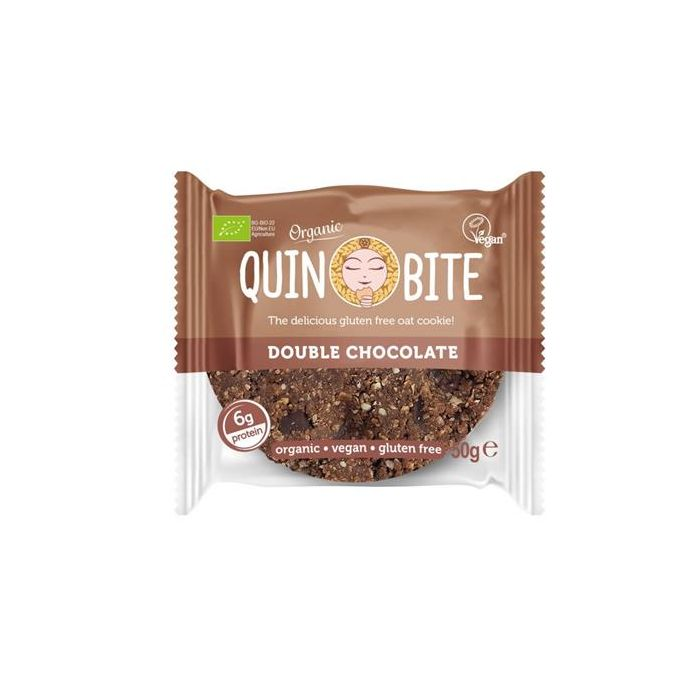 Cookie Duplo Chocolate Bio Vegan Sem Glúten