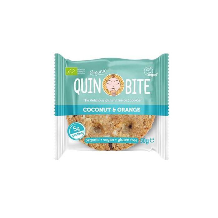 Cookie Coco Laranja Bio Vegan Sem Glúten