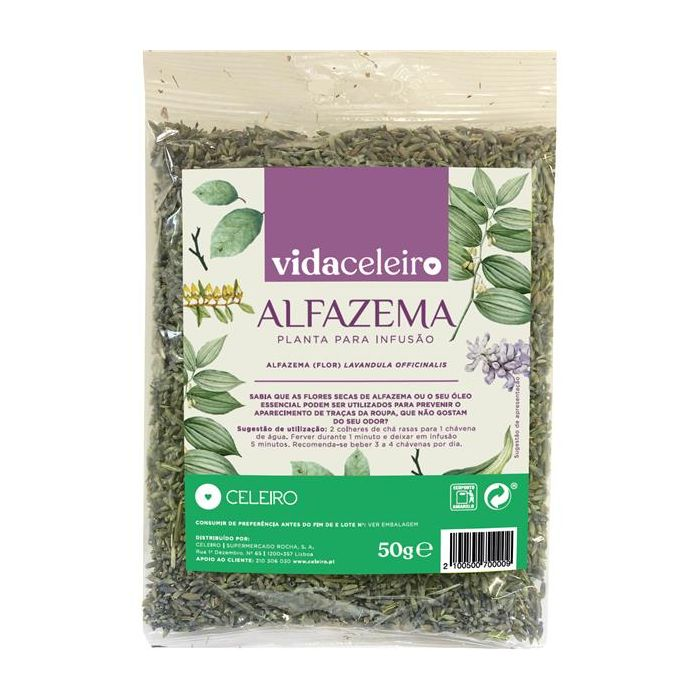 chá alfazema