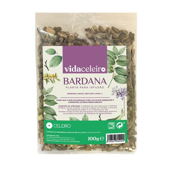 Chá Bardana
