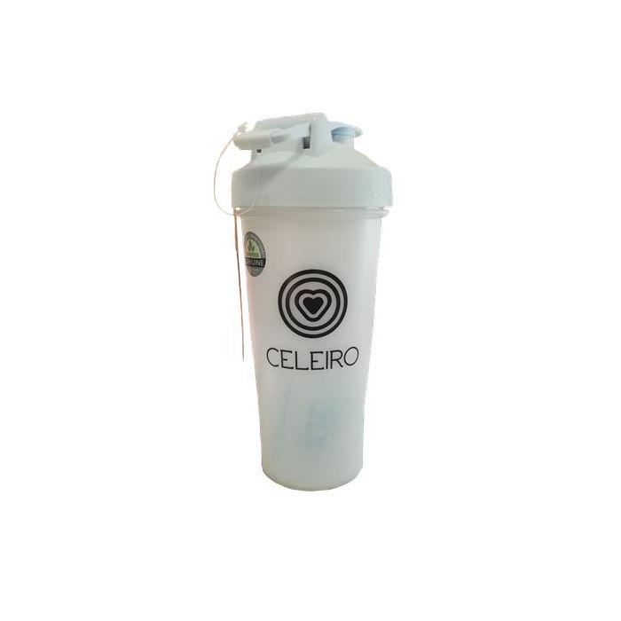 Shaker Celeiro Sem Bpa 820 Ml Branco