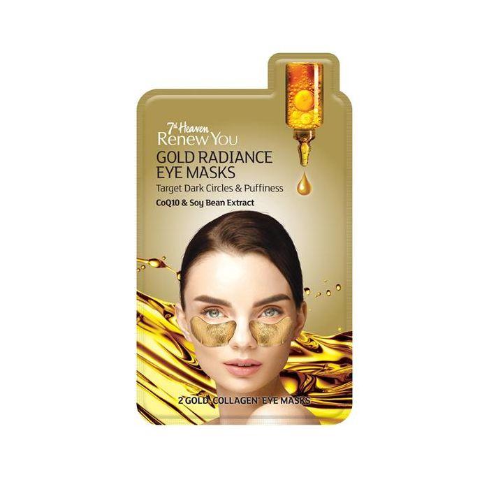 Máscara Olhos Ouro 2K, Coenzima Q-10 Soja