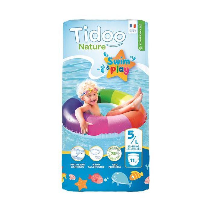Fraldas Ecológicas Swim Tam.5L (12-18Kg) X11