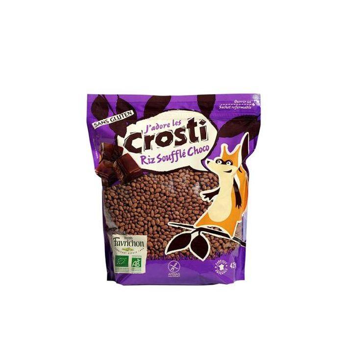 Arroz Tufado Biológico Com Chocolate, Sem Glúten