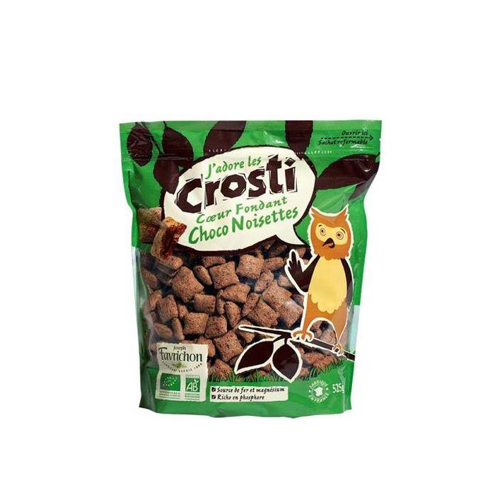 Almofadinhas - Cereais Com Chocolate E Recheio De Avelãs Bio