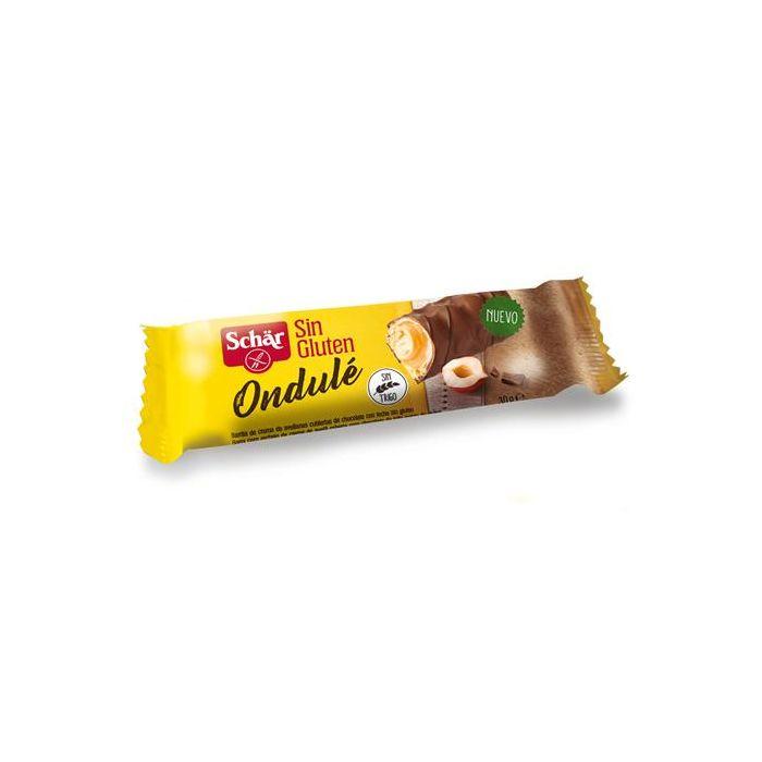 Barra Com Recheio Creme Avelã Com Chocolate Sem Glúten