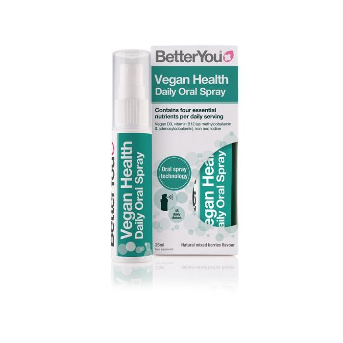 Spray Oral De Vitaminas D3, B12, Ferro E Iodo Para Vegans