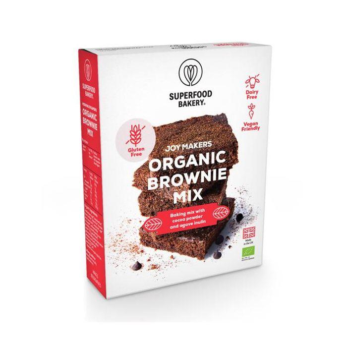 Mix Bio Para Brownies Cacau E Maca - Sem Glúten