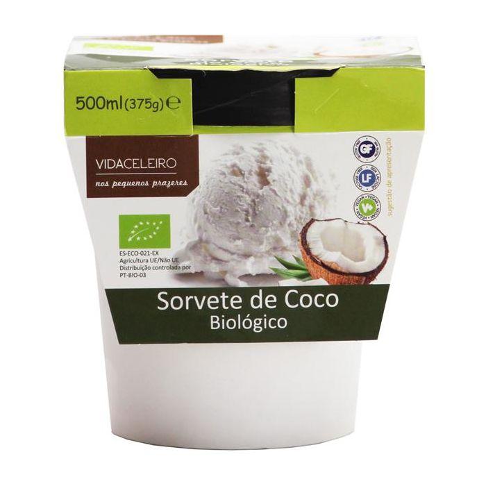 Sorvete De Coco Biológico