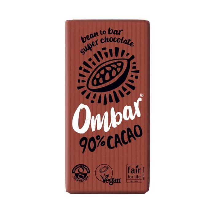 Tablete Raw Bio Dark 90% 35G