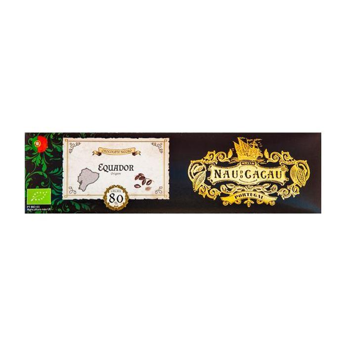 Chocolate Negro 80% De Cacau Equador
