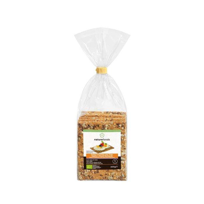 Tostas Crocantes De Trigo Espelta E Muesli Biológicas
