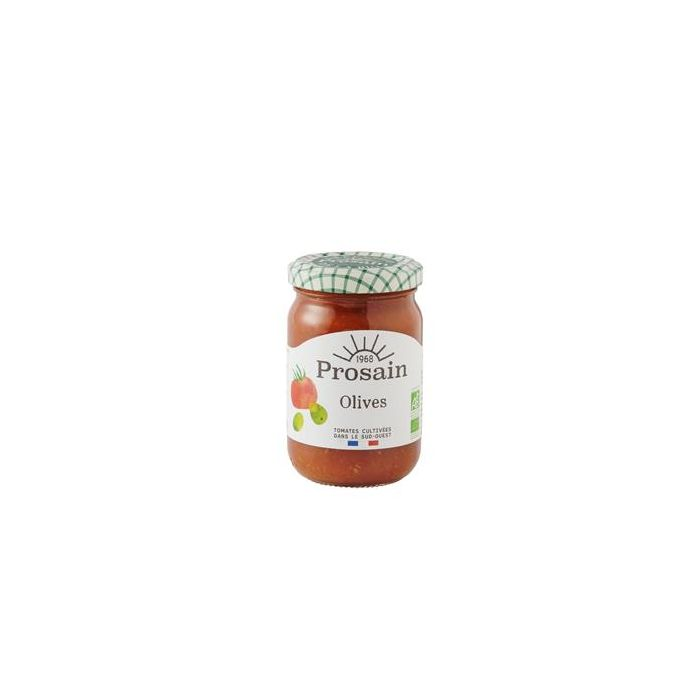 Molho De Tomate E Azeitonas Biológico 200G
