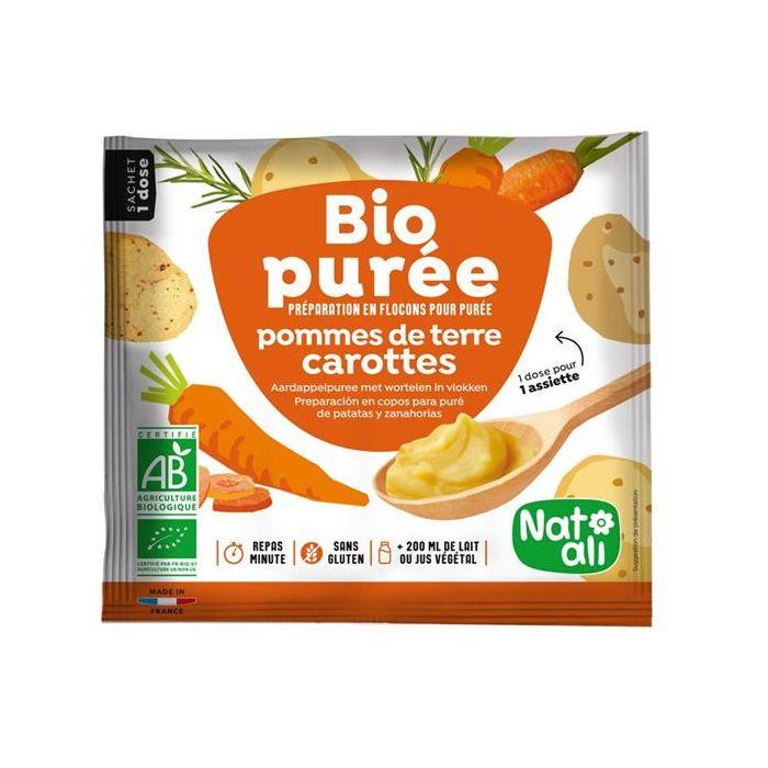 Puré De Batata E Cenoura Bio Instantânea